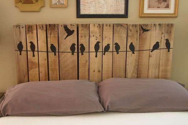 Birds-Headboard.Selfmade