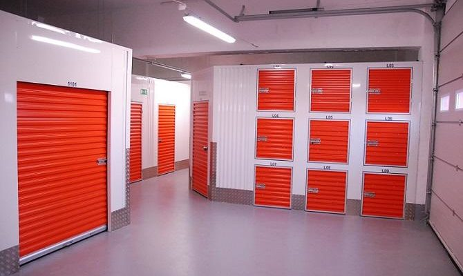 Self-Storage-Lockers