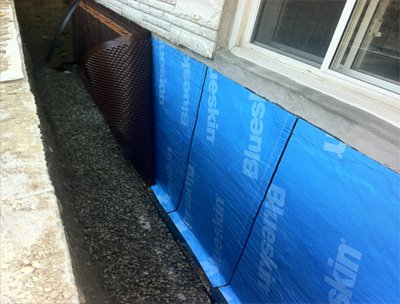 Exterior basement waterproofing and how it is done buckeyestateblog Exterior basement waterproofing
